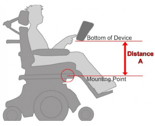 How to Determine Post Length for Wheelchair Mount