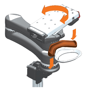 Adjust Wheelchair Mount - How Mount'n Mover Paddle Works