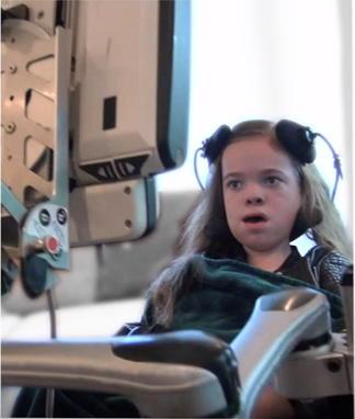 Eye Gaze Device Wheelchair Mount