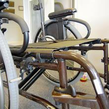 Quickie folding frame wheelchair
