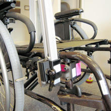 Quickie folding frame wheelchair