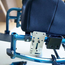 An Invacare Solara initially mounted with just a WC-AP2.