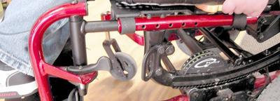 The Iris can be attached to using the holes in the frame or with a bridge clamp.