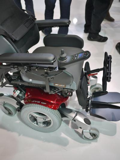 The Jive, with a Tie-down bracket on the seat frame.