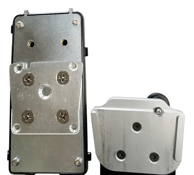 Tilt plate with Quick Connect Plate attached is compatible with UDS