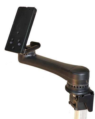 Easy Mover Single Arm with Tilt Plate