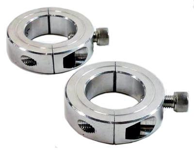 Collar clamp set for bridge clamp