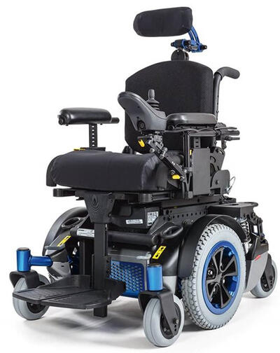 Quickie Xperience Power Wheelchair (has T-Nut track)