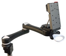 Mount'n Mover Dual Arm Wheelchair Mount for iPad, Tablet, Laptop, Speech Device