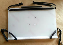 Large Tablet Tray with protective plastic in place