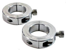 Collar clamp set for bridge clamp