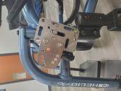 AP4 attached to collar clamps, AAP attached to AP4