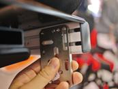 Try the Adapter Plate in various orientations. Try to position it so 4 bolts and nuts can be used.
