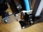 Use the Angle Adjustment Plate to position the Wheelchair Bracket and post at a good angle.