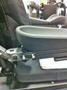 Q6 Edge showing side of armrest