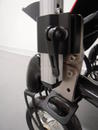 Attach the Wheelchair Bracket using the Angle Adjustment plate if necessary for a vertical post.