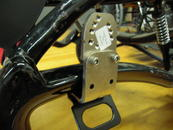 Attach Angle Adjustment plate to the LAE if necessary