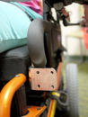 Front face of L-Angle extension plate offers many options for Wheelchair Bracket attachment.
