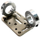 Collar clamps with an AP4 plate as a bridge