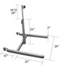 Floor Stand with measurements
