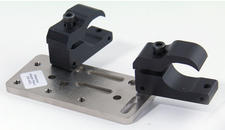 Bridge clamp with an Adapter Plate and Oval clamps