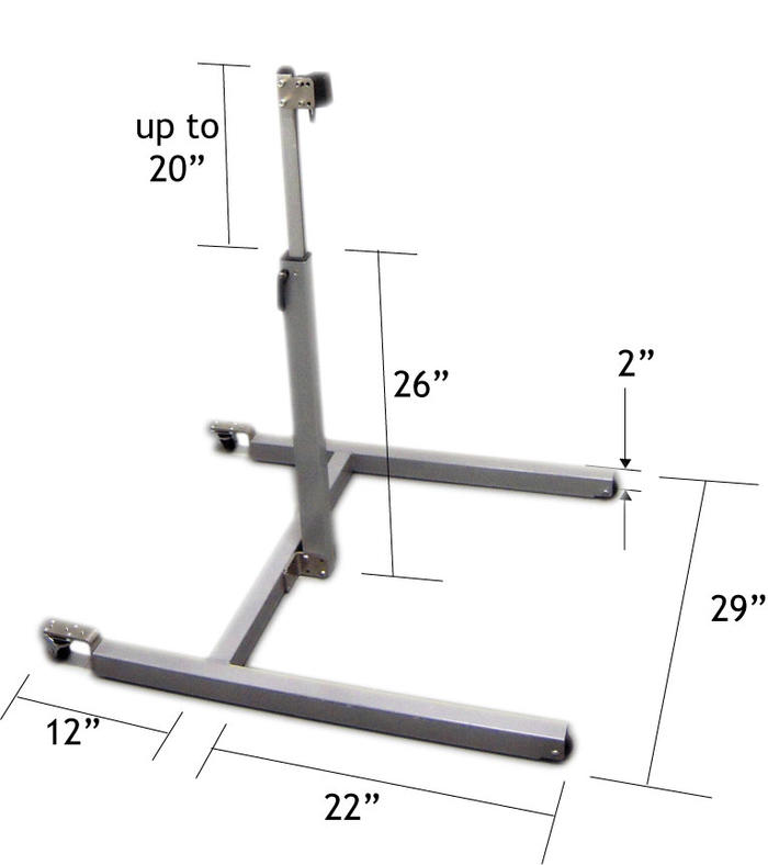 Mount'n Mover Floor Stand Dimensions