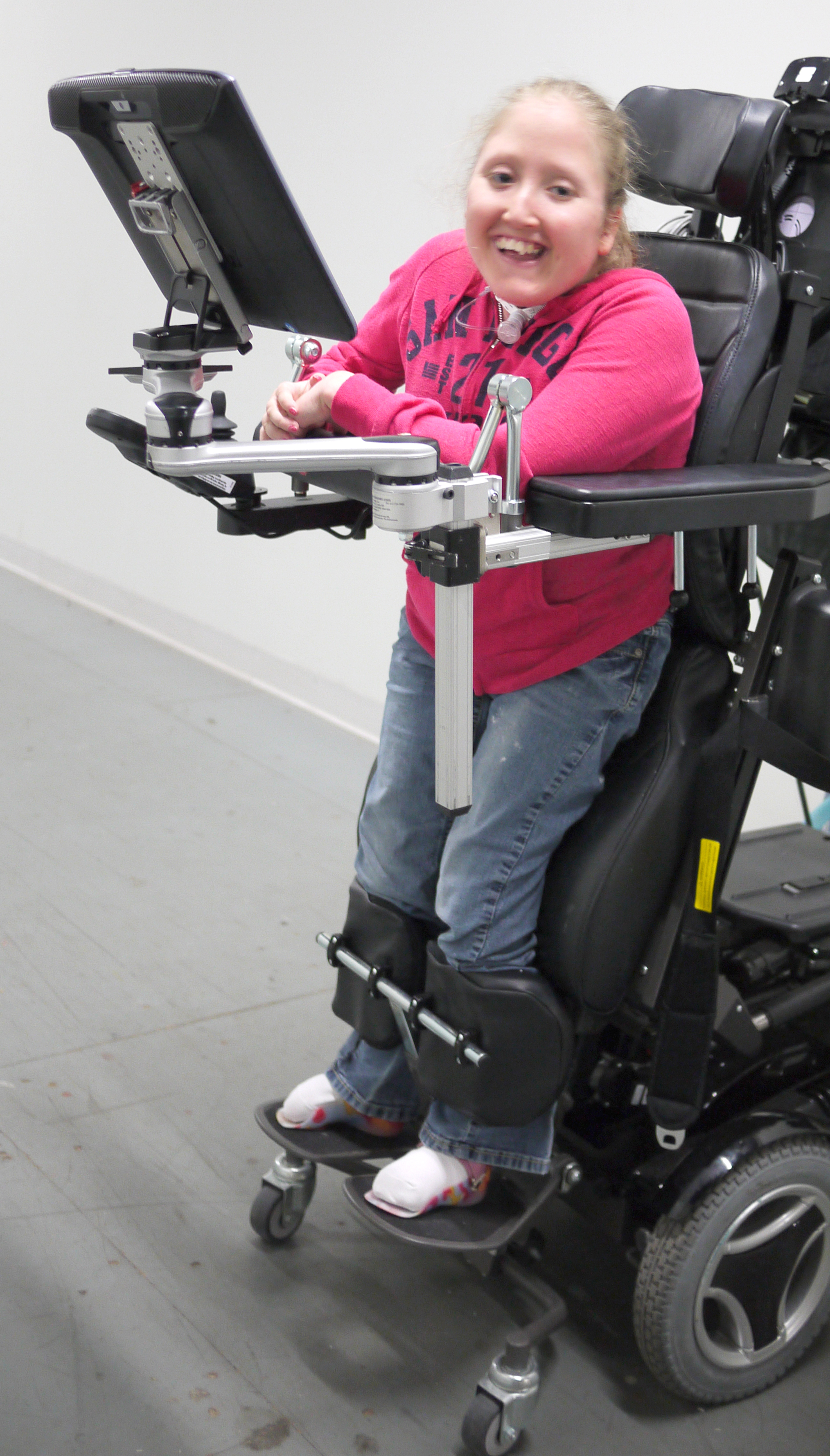 Wheelchair Mount for Standing Wheelchairs