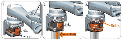 Wheelchair Mounting Options: Link Cube